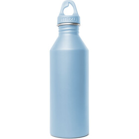MIZU M8 Drikkeflaske with Light Blue Loop Cap 800ml blå